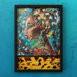 Mama Africa print