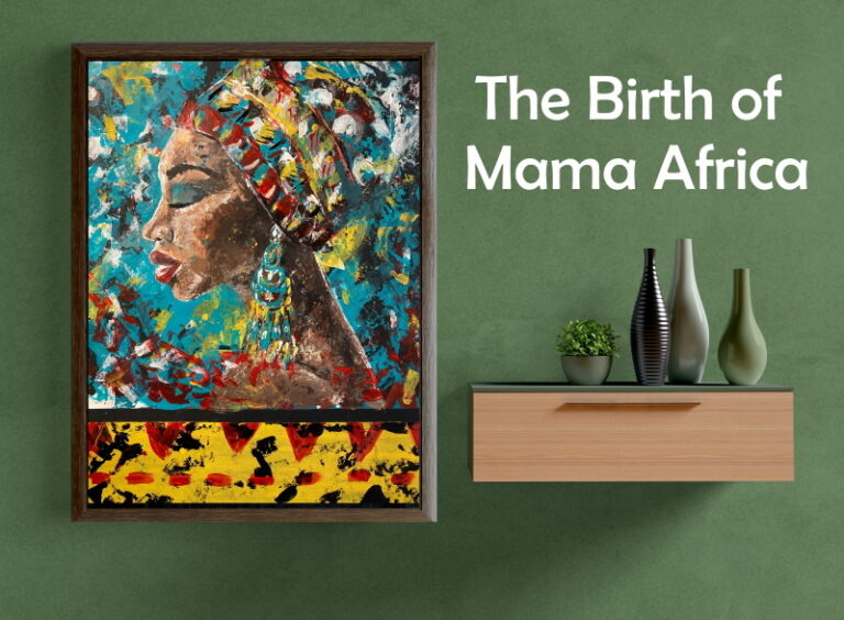 The inspiration behind Mama Africa