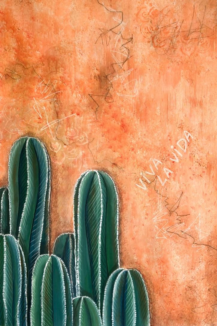 Viva La Vida painting